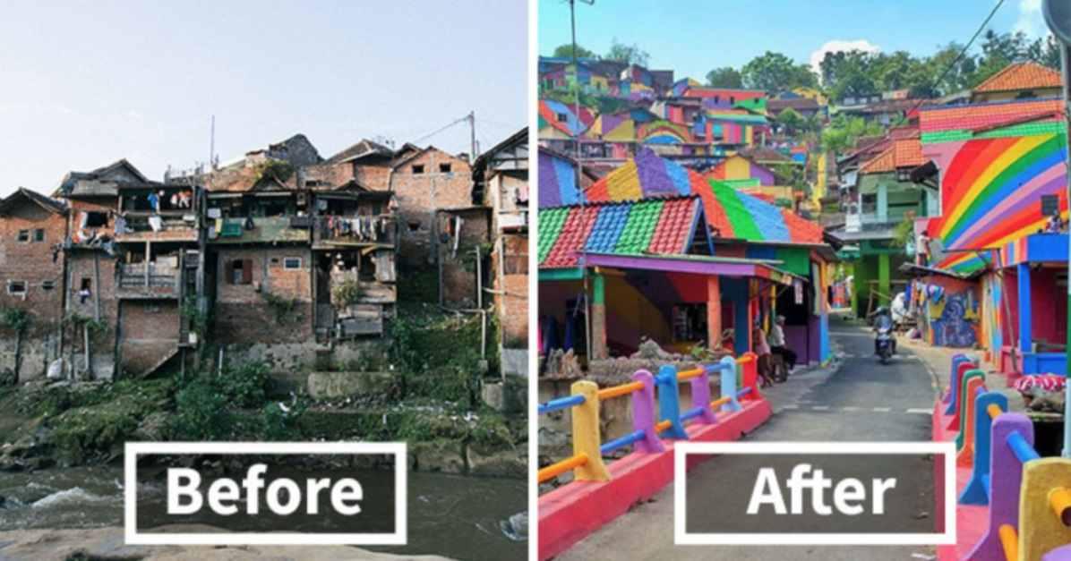 gambar sejarah kampung pelangi semarang