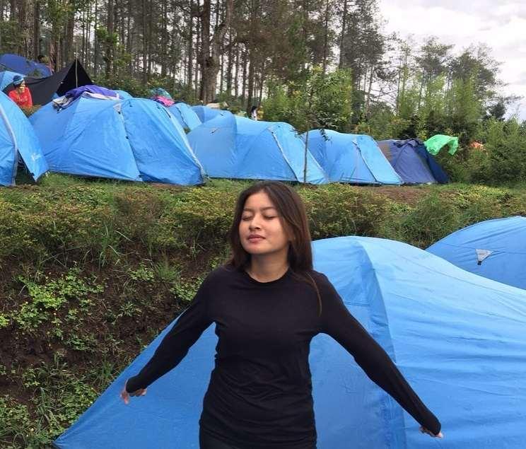 gambar sewa tenda mawar camp ungaran